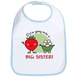 Big Sister to be (Strawberry) Bib