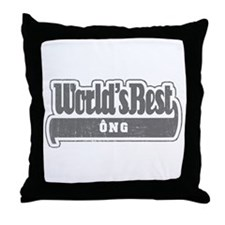 WB Grandpa [Ong] Throw Pillow