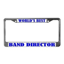 Band Director License Plate Frame