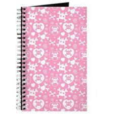 Girly Skull Pattern Journal