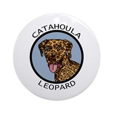 Catahoula Leopard Ornament (Round)