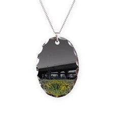 Life In The City Oval Necklace