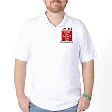 Bullmastiff-Love My Bullmastiff-Personalized T-Shirt