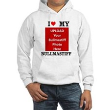 Bullmastiff-Love My Bullmastiff-Personalized Hoodi