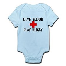 Give Blood, Play Rugby Body Suit