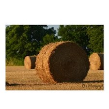 Hay Bale Postcards (Package of 8)