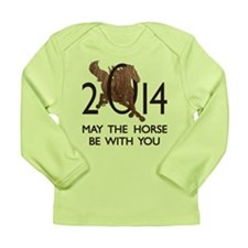 Horse With You Long Sleeve Infant T-Shirt
