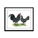 Mottle OE Pair Framed Panel Print