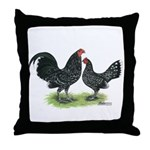 Mottle OE Pair Throw Pillow