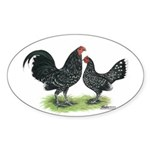 Mottle OE Pair Oval Sticker