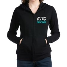 Labor Nurse Creation Zip Hoodie