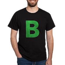Letter B Green T-Shirt