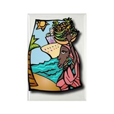 Cruise, travel, ship, vacation, o Rectangle Magnet