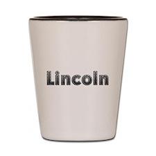 Lincoln Metal Shot Glass