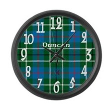 Duncan Clan Large Wall Clock