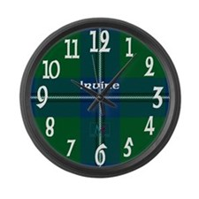 Irvine Clan Large Wall Clock