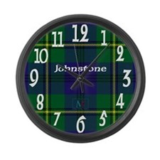 Johnstone Clan Large Wall Clock