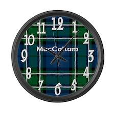 MacCallum Clan Large Wall Clock