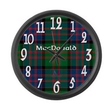 MacDonald Clan Large Wall Clock