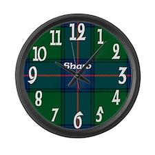 Shaw Clan Large Wall Clock