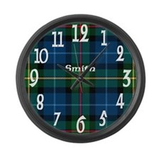 Smith Clan Large Wall Clock