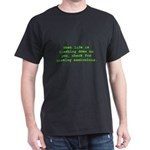 Check for missing semicolons Dark T-Shirt