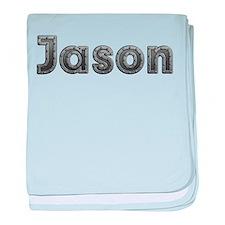Jason Metal baby blanket