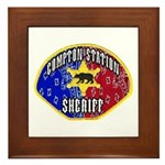 Compton Sheriff Framed Tile