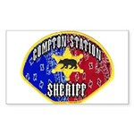 Compton Sheriff Rectangle Sticker