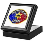 Compton Sheriff Keepsake Box
