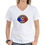 Compton Sheriff Women's V-Neck T-Shirt