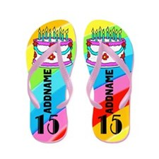 Fashionable 15Th Flip Flops