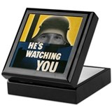 Bush Always Watching You Keepsake Box