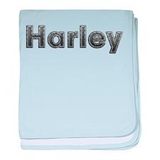 Harley Metal baby blanket