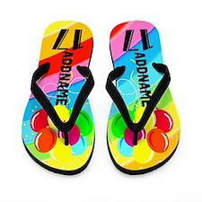 Festive 17Th Flip Flops