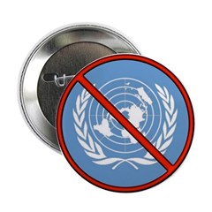 Anti UN 2.25&quot; Button (10 pack)