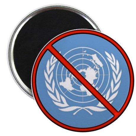 Anti UN 2.25&quot; Magnet (100 pack)