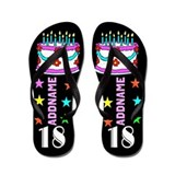 18th birthday Flip Flops