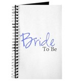Bride To Be (Blue Script) Journal