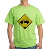 Yellow Bus Stop T-Shirt