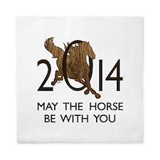 Horse With You Queen Duvet