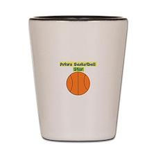 Future Basketball Star Shot Glass
