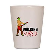 Walking Shred Shot Glass