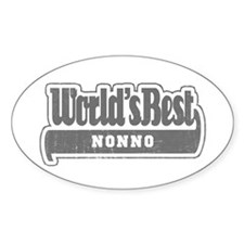 WB Grandpa [Italian] Oval Decal
