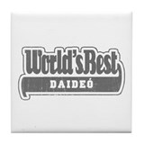 WB Grandpa [Irish Gaelic] Tile Coaster