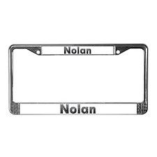 Nolan Metal License Plate Frame