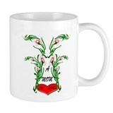 Unique Valentin's first christmas Mug