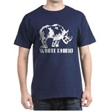 (White Rhino 2) T-Shirt