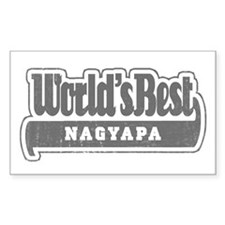 WB Grandpa [Hungarian] Rectangle Decal