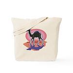 Colorful Camel Design Tote Bag